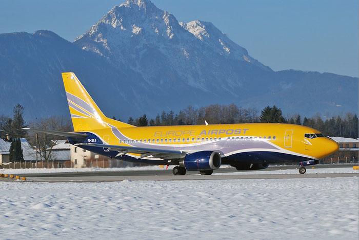 EI-STA B737-31S 29057/2942 Europe Airpost @ Salzburg Airport 2011 © Piti Spotter Club Verona
