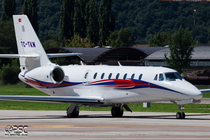 TC-TKN Ce680 680-0174 Emair @ Aeroporto di Bolzano © Piti Spotter Club Verona