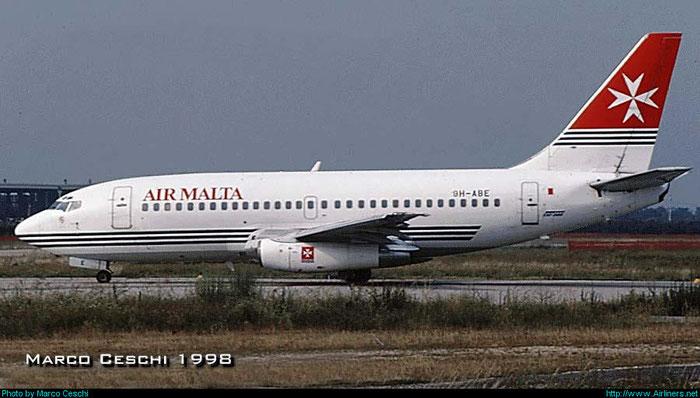 9H-ABE  B737-2Y5  23847/1414  Air Malta  @ Aeroporto di Verona © Piti Spotter Club Verona