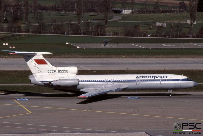 CCCP-85238 77A238 Tu-154B-1 CCCP-85238 AFL/Leningrad © 2018 courtesy of Marco Ceschi - Piti Spotter Club Verona