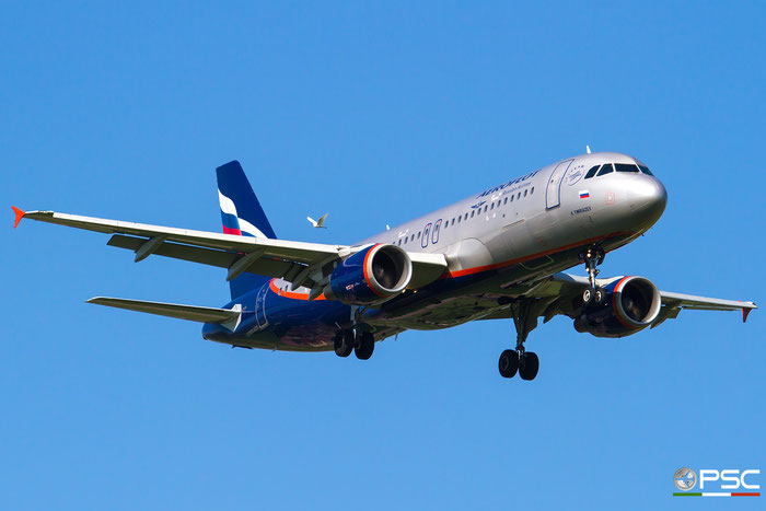 VQ-BIU A320-214 4684 Aeroflot @ Aeroporto di Verona 07.2018  © Piti Spotter Club Verona