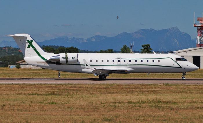 9H-JAD CL-850 8060 Air X Charter@ Aeroporto di Verona 27.08.2018  © Piti Spotter Club Verona