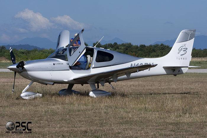 N10PY - Cirrus SR22 @ Aeroporto Verona Boscomantico © Piti Spotter Club Verona
