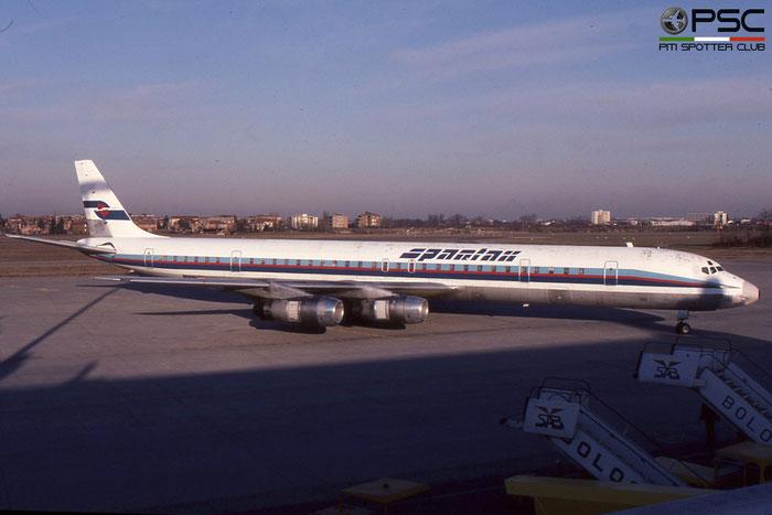 EC-CZE DC-8-61 45913/325 Spantax © 2018 courtesy of Marco Ceschi - Piti Spotter Club Verona
