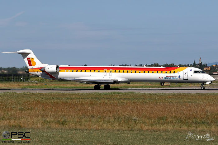 EC-LOV CRJ1000 19019 Iberia Regional @ Aeroporto di Verona 07.08.2017  © Piti Spotter Club Verona