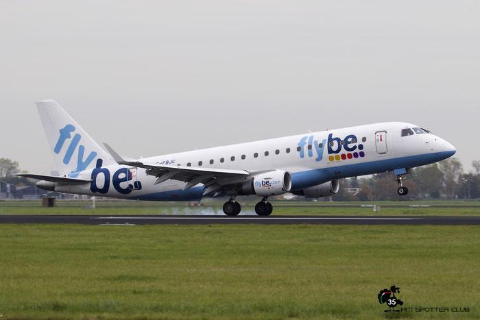 G-FBJC ERJ175STD 17000328 Flybe - British European @ Amsterdam Airport 24.10.2015 © Piti Spotter Club Verona