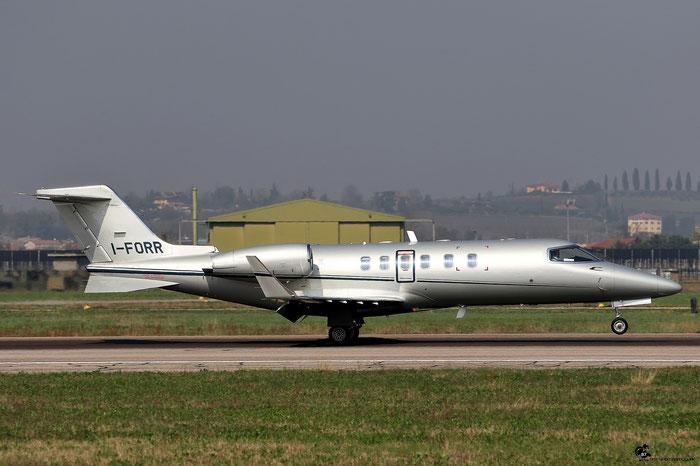 I-FORR Learjet 40 45-2019 Sirio SpA @ Aeroporto di Verona 25.03.2017  © Piti Spotter Club Verona