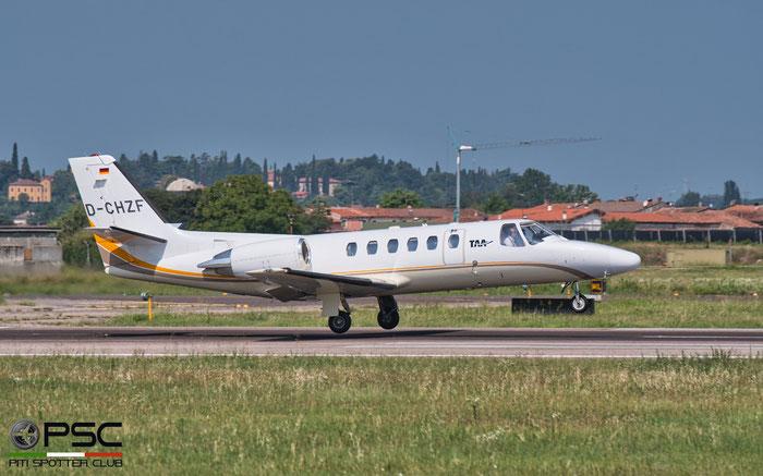 D-CHZF Ce550 Bravo 550-0866 Tyrol Air Ambulance @ Aeroporto di Verona 08.2020  © Piti Spotter Club Verona