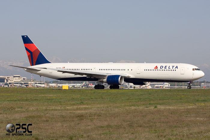 N827MH B767-432ER 29705/773 Delta Air Lines @ Milano Malpensa Airport 06.04.2014 © Piti Spotter Club Verona