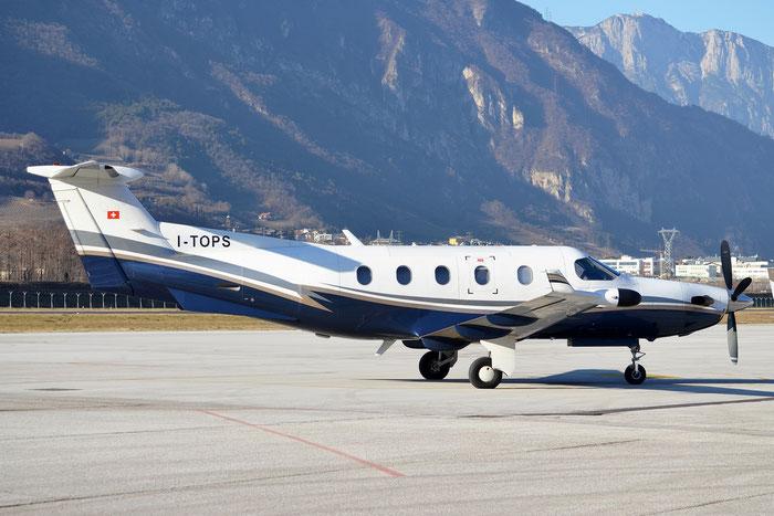 I-TOPS PC-12/45 352 Topjet Executive Srl @ Aeroporto di Trento © Piti Spotter Club Verona