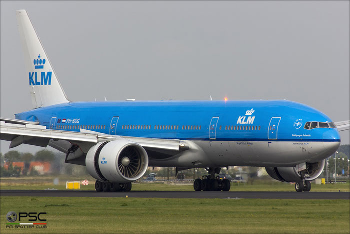 PH-BQG B777-206ER 32704/476 KLM Royal Dutch Airlines @ Amsterdam Airport - 09.2013  © Piti Spotter Club Verona