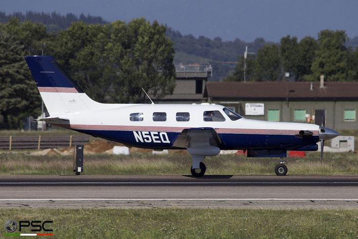 N5EQ - Piper PA-46-350P Malibu Mirage - Private - @ Aeroporto di Verona 29.09.2018  © Piti Spotter Club Verona
