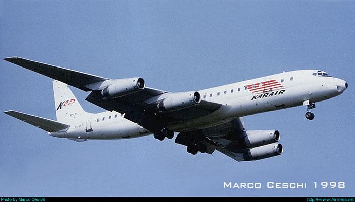OH-LFZ DC-8-62 45987/366 @ Aeroporto di Verona © Piti Spotter Club Verona
