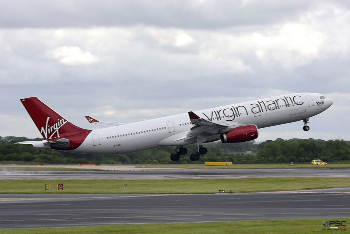 G-VINE A330-343E 1231 Virgin Atlantic Airways @ Manchester Airport 21.06.2015 © Piti Spotter Club Verona