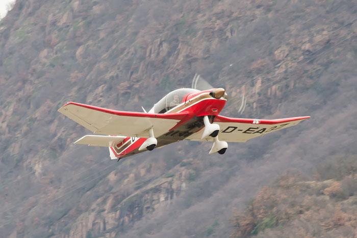 D-EAGZ - Robin DR400/180 Régent - Private @ Aeroporto di Bolzano © Piti Spotter Club Verona