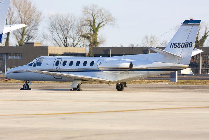N550BG CeS550 S550-0148 Grafair @ Treviso Airport 26.02.2012 © Piti Spotter Club Verona