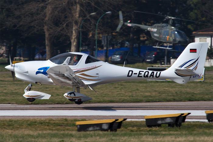 D-EQAU - Private Aquila 210 @ Aeroporto di Bolzano © Piti Spotter Club Verona
