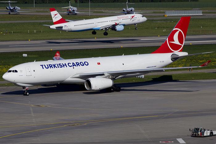 TC-JOU A330-243F 1550 Turkish Airlines - THY Türk Hava Yollari @ Zurich Airport 05.2016 © Piti Spotter Club Verona