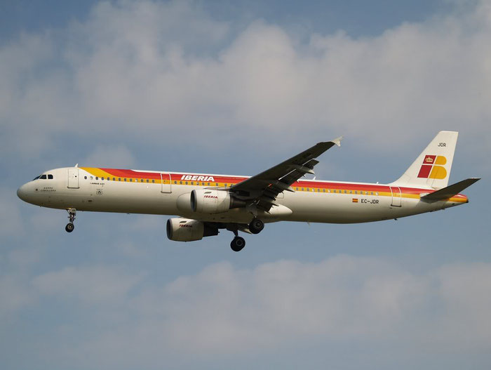 EC-JDR A321-213 2488 Iberia Líneas Aéreas de España @ London Heathrow Airport 08.2007 © Piti Spotter Club Verona