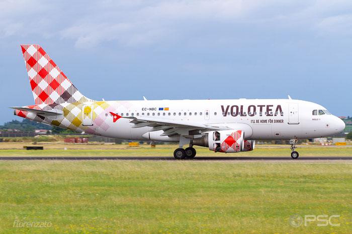 EC-NBC A319-112 1884 Volotea Air @ Aeroporto di Verona 06.2019  © Piti Spotter Club Verona