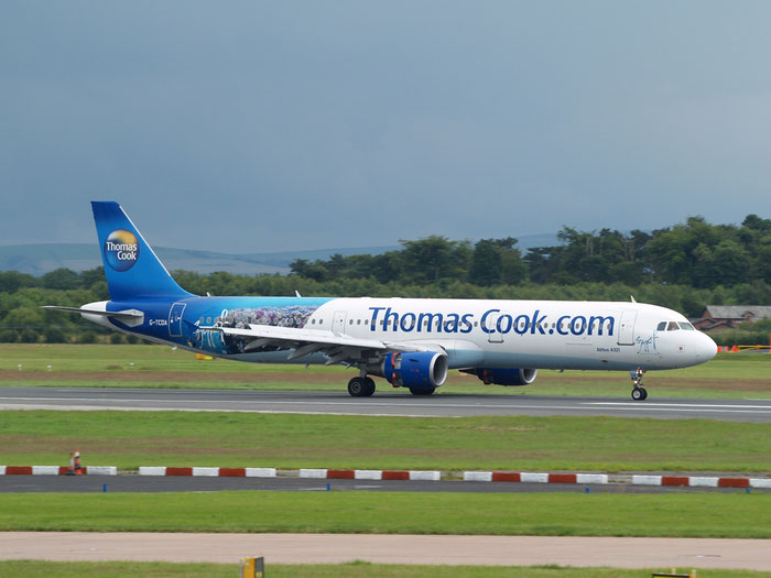 G-TCDA A321-211 2060 Thomas Cook Airlines @ Manchester Airport 20.07.2012 © Piti Spotter Club Verona