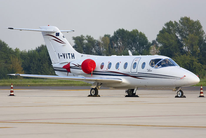 I-VITH Beech 400A RK-309 Aliparma @ Treviso Airport 18.09.2012 © Piti Spotter Club Verona