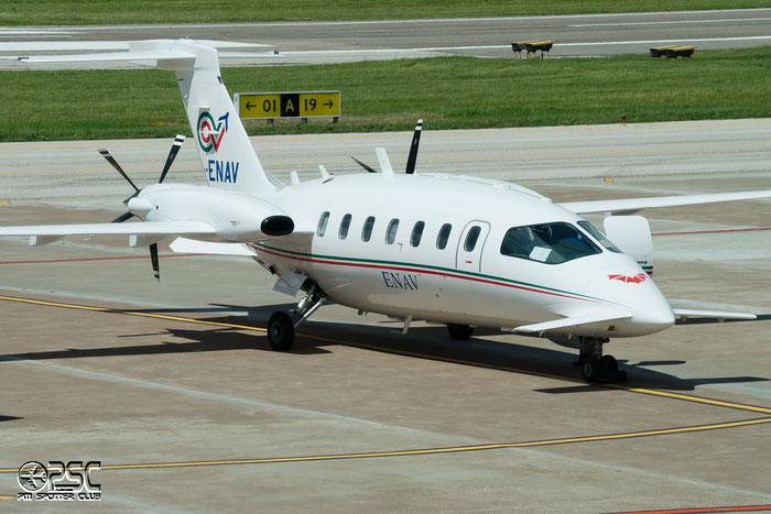 I-ENAV - Piaggio P-180 Avanti II - Italy - Ente Nazionale Assistenza al Volo (ENAV) @ Aeroporto di Bolzano © Piti Spotter Club Verona