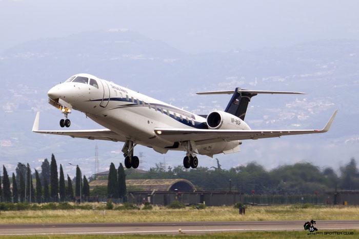 VP-BGP - Embraer Legacy 650  - Sirius-Aero @ Aeroporto di Verona 09.2020  © Piti Spotter Club Verona
