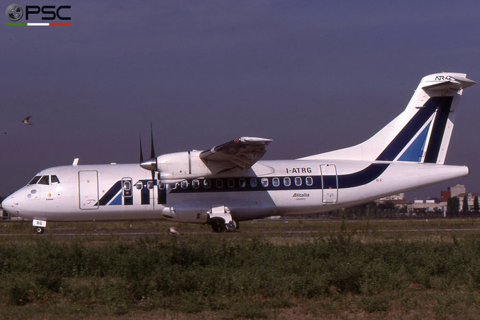 I-ATRG ATR42-300 042 ATI - Aero Transporti Italiani © 2018 courtesy of Marco Ceschi - Piti Spotter Club Verona