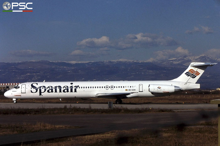 EC-GOM MD-83 49579/1465 Spanair @ Aeroporto di Verona - © Piti Spotter Club Verona