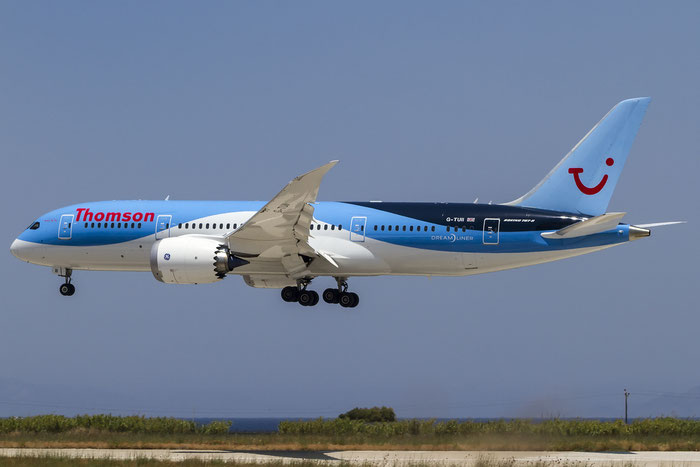 G-TUII B787-8 37230/300 Thomson Airways@ Rhodes Airport 08.07.2016 © Piti Spotter Club Verona