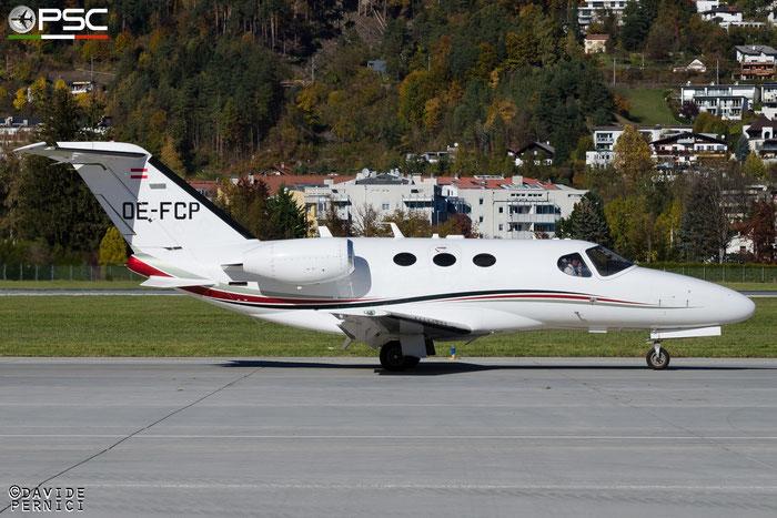 OE-FCP Ce510 510-0019 ABC Bedarsflug GmbH @ Innsbruck Airport 10.2015 © Piti Spotter Club Verona