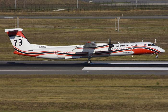 F-ZBMC DHC-8-402MR 4040 Sécurité Civile @ Toulouse Airport 10.2008 © Piti Spotter Club Verona