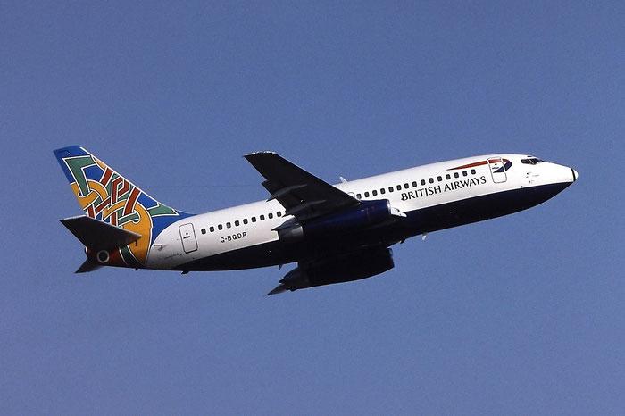 G-BGDR B737-236 21805/697 British Airways @ Aeroporto di Verona © Piti Spotter Club Verona