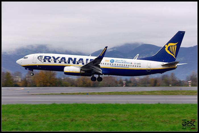 EI-DWC B737-8AS 36076/2384 Ryanair @ Bergamo Airport 07.12.2014 © Piti Spotter Club Verona