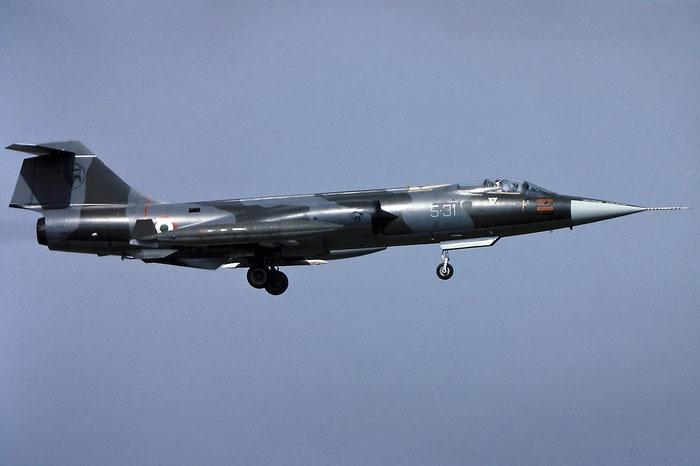 MM6806  5-31  F-104S-ASA  1106 @ Aeroporto di Verona   © Piti Spotter Club Verona