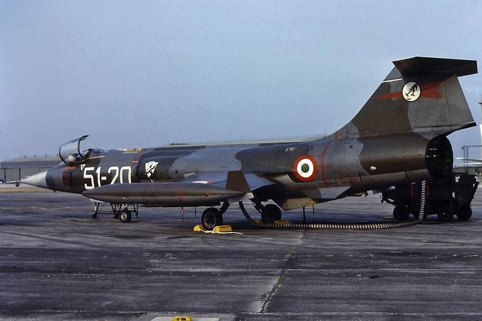 MM6850  4-16  (51-20) F-104S-ASA-M  1150 © Piti Spotter Club Verona