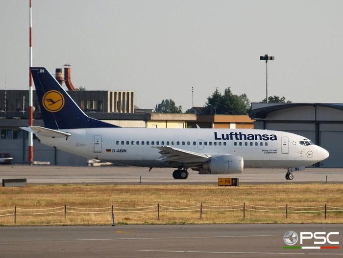 D-ABIN B737-530 24938/2023 Lufthansa @ Aeroporto di Verona 05.08.2007  © Piti Spotter Club Verona