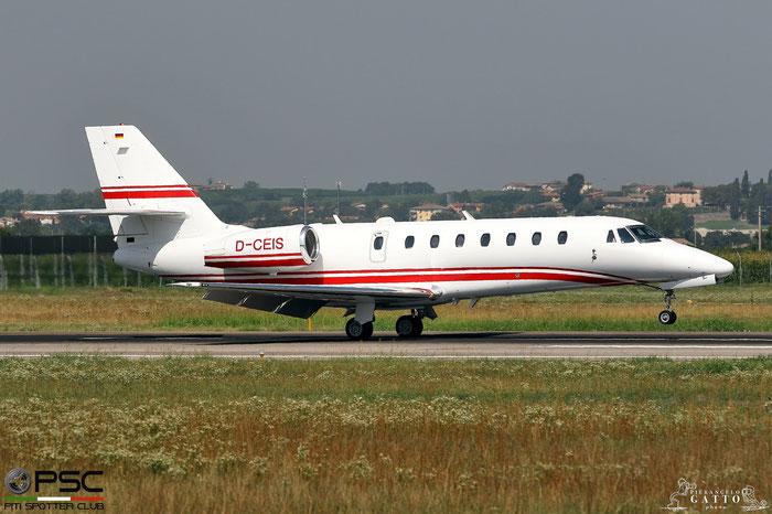 D-CEIS Ce680 680-0185 E-Aviation @ Aeroporto di Verona 04.08.2017  © Piti Spotter Club Verona