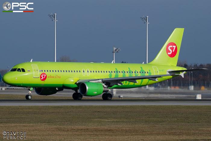 VQ-BET A320-214 4150 S7 Airlines @ Munich Airport 13.12.2015 © Piti Spotter Club Verona