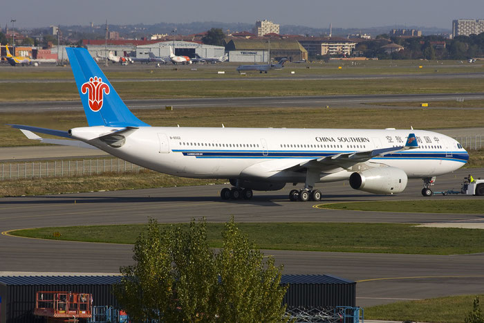 B-6502 A330-343E 958 China Southern Airlines @ Toulouse Airport 10.2008 © Piti Spotter Club Verona