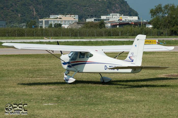 D-MNFG  Tecnam P92 Echo @ Aeroporto di Bolzano © Piti Spotter Club Verona