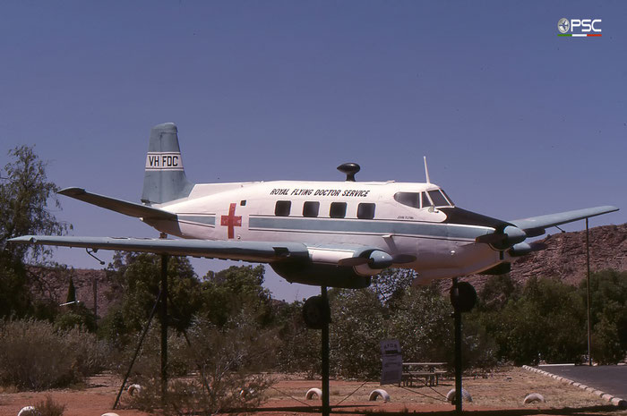 VH-FDC De Havilland Australia DHA-3 Drover Royal Flying Doctor Service © 2017 courtesy of Marco Ceschi - Piti Spotter Club Verona