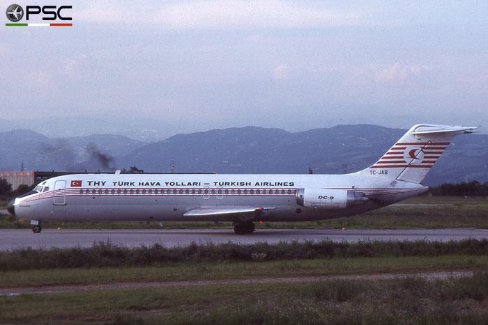 TC-JAB DC-9-32 45774/336 Turkish Airlines - THY Türk Hava Yollari © 2018 courtesy of Marco Ceschi - Piti Spotter Club Verona