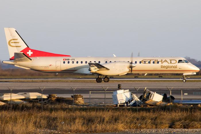 HB-IYI Saab 2000 2000-016 Darwin Airline @ Venezia Airport 30.12.2015 © Piti Spotter Club Verona