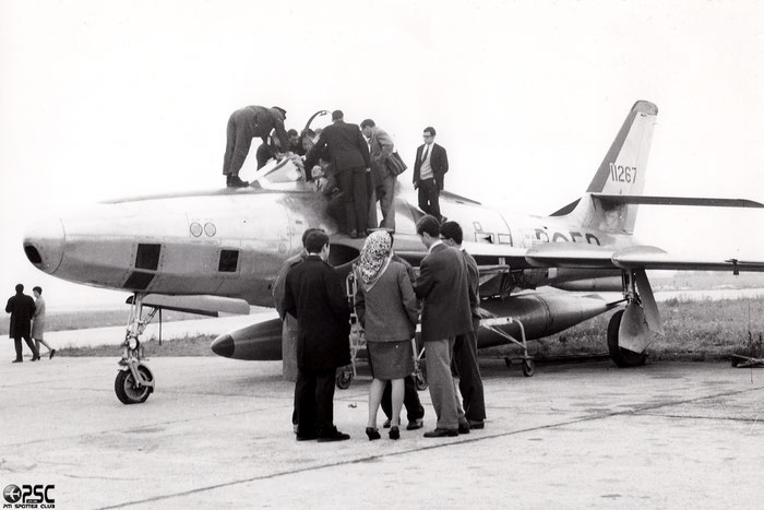 MM51-11267 3-50 RF-84F-15-RE @ Aeroporto di Verona © Piti Spotter Club Verona