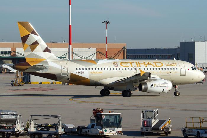 A6-EID A319-132 1947 Etihad Airways @ Venezia Airport 22.12.2016 © Piti Spotter Club Verona