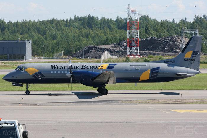 SE-MAI ATP/F 2010 West Air Sweden @ Birmingham Airport 12.2017 © Piti Spotter Club Verona