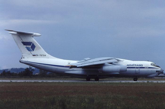 093421637 Il-76T RA-76754 Aviatrans @ Aeroporto di Verona © Piti Spotter Club Verona