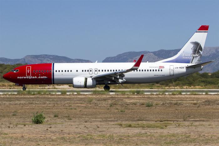 LN-NOV B737-8FZ 31713/3215 Norwegian @ Palma de Mallorca Airport 07.2014 © Piti Spotter Club Verona